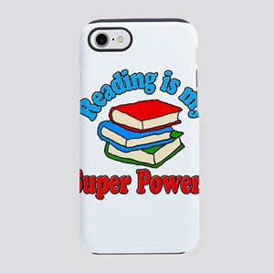 Reading is My Super Power iPhone 8/7 Tough Case