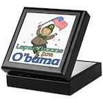 Leprechauns for O'Bama Keepsake Box