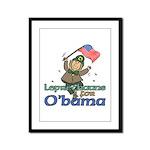 Leprechauns for O'Bama Framed Panel Print