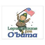Leprechauns for O'Bama Small Poster