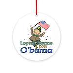 Leprechauns for O'Bama Ornament (Round)