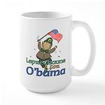 Leprechauns for O'Bama Large Mug