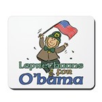 Leprechauns for O'Bama Mousepad