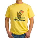 Leprechauns for O'Bama Yellow T-Shirt