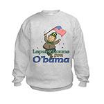 Leprechauns for O'Bama Kids Sweatshirt