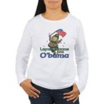 Leprechauns for O'Bama Women's Long Sleeve T-Shirt