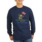 Leprechauns for O'Bama Long Sleeve Dark T-Shirt