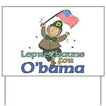 Leprechauns for O'Bama Yard Sign