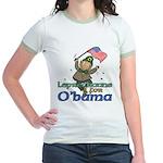 Leprechauns for O'Bama Jr. Ringer T-Shirt