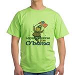 Leprechauns for O'Bama Green T-Shirt