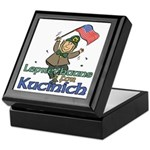 Leprechauns for Kucinich Keepsake Box