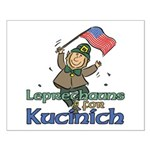 Leprechauns for Kucinich Small Poster