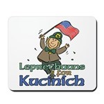 Leprechauns for Kucinich Mousepad
