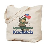 Leprechauns for Kucinich Tote Bag