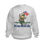 Leprechauns for Kucinich Kids Sweatshirt