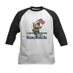 Leprechauns for Kucinich Kids Baseball Jersey