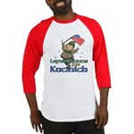 Leprechauns for Kucinich Baseball Jersey