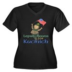 Leprechauns for Kucinich Women's Plus Size V-Neck