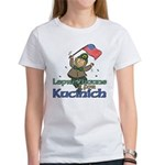 Leprechauns for Kucinich Women's T-Shirt