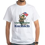 Leprechauns for Kucinich White T-Shirt