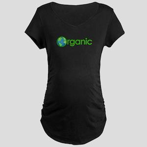 Organic Earth Maternity Dark T-Shirt