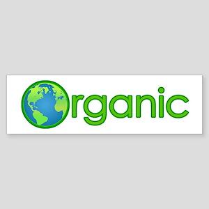 Organic Earth Bumper Sticker