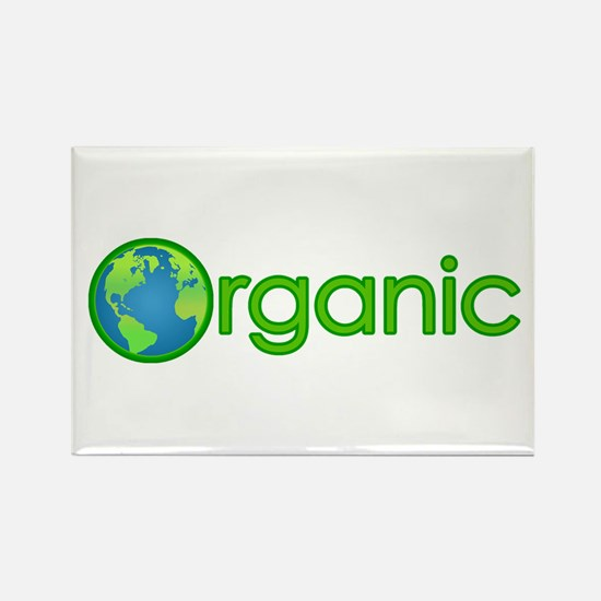 Organic Earth Rectangle Magnet (100 pack)