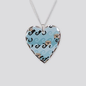 Cute Sea Otters Necklace