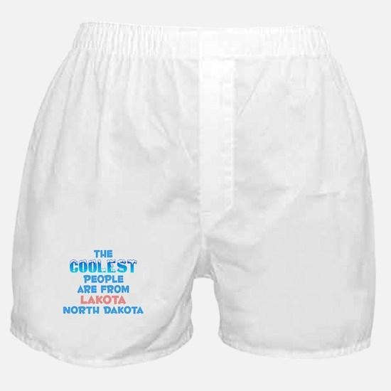 Coolest: Lakota, ND Boxer Shorts