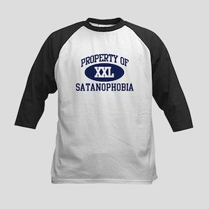 Property of Satanophobia Kids Baseball Jersey