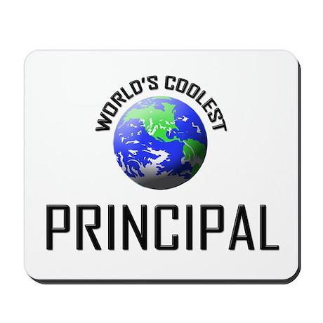 World's Coolest PRINCIPAL Mousepad