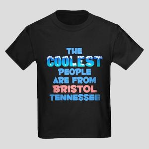 Coolest: Bristol, TN Kids Dark T-Shirt