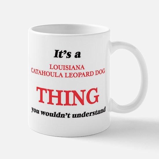 It's a Louisiana Catahoula Leopard Dog th Mugs