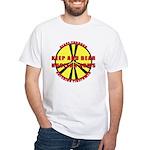Peace Through Nuclear Weapons White T-Shirt