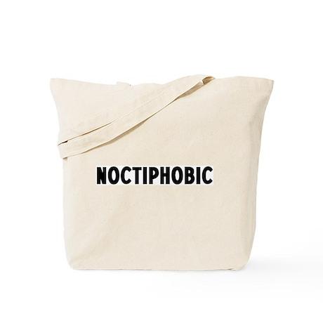 noctiphobic Tote Bag
