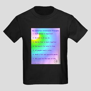 UU Principles Kids Dark T-Shirt
