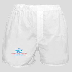 Coolest: Wessington Spr, SD Boxer Shorts