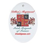 Dillon's Regiment - Keepsake (Oval)