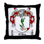 O'Hea Family Crest Throw Pillow