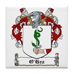 O'Hea Family Crest Tile Coaster