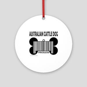 AUSTRALIAN CATTLE DOG Ornament (Round)