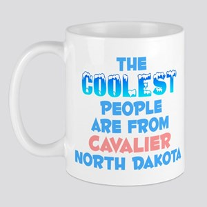Coolest: Cavalier, ND Mug