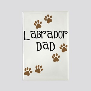 Labrador Dad Rectangle Magnet