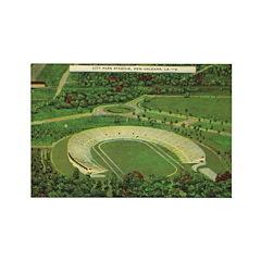 New OrleansCity PArk Stadium Rectangle Magnet