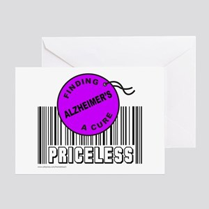 ALZHEIMER'S FINDING A CURE Greeting Card