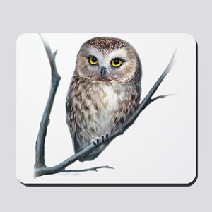 little owl Mousepad