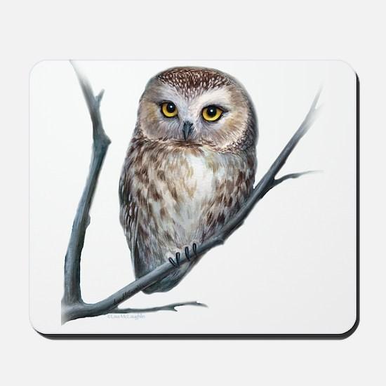 little owl Mousepad
