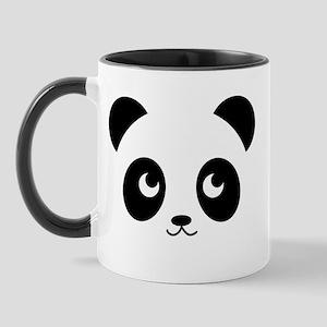Panda Smile 11 Oz Ceramic Mug Mugs