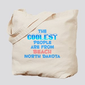Coolest: Beach, ND Tote Bag