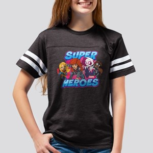 Super Heroes Youth Football Shirt